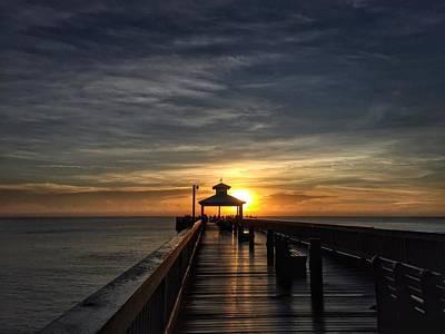Photograph - Pier House by Juan Montalvo