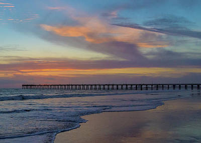Photograph - Pier In The Horizon by John Hembree