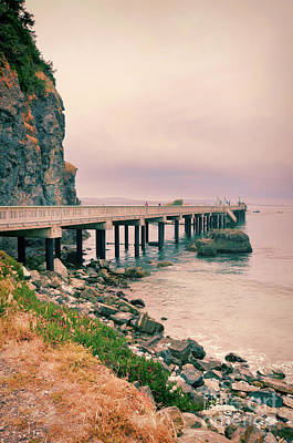 Photograph - Pier In Trinidad by Jill Battaglia