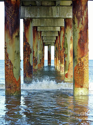 Photograph - Pier Into The Atlantic by D Hackett