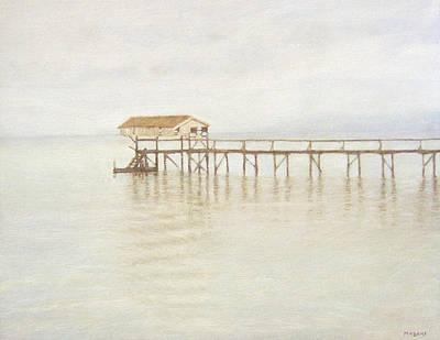 Painting - Pier by Masami Iida