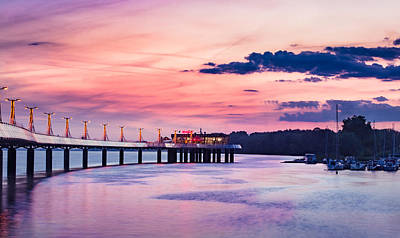 Photograph - Pier On Sunset by Dmytro Korol
