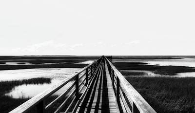 Photograph - Pier Over The English Marshes by Pixabay