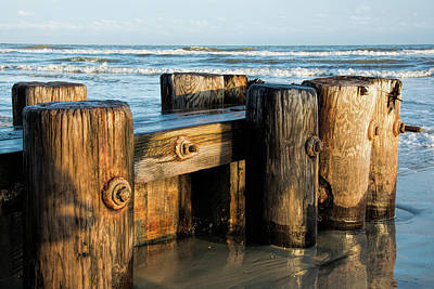 Photograph - Pier Perspective by Ed Waldrop