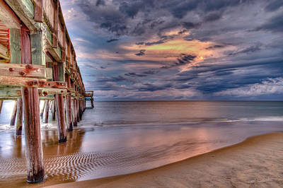 Photograph - Pier by Pete Federico