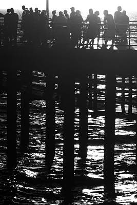 Photograph - Pier Pressure by George Taylor
