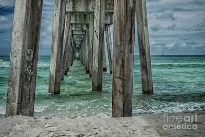 Photograph - Pier Pressure by Judy Hall-Folde