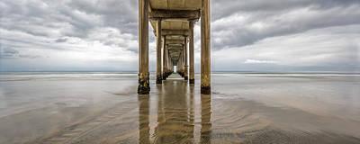 Photograph - Pier Review by Dustin  LeFevre