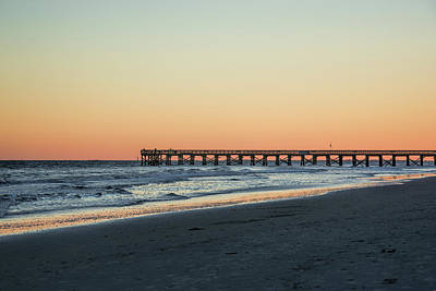Photograph - Pier Review by Ed Waldrop