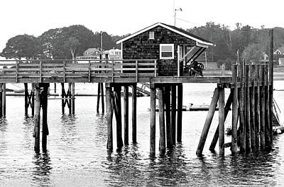 Photograph - Pier Shack by Brian Pflanz