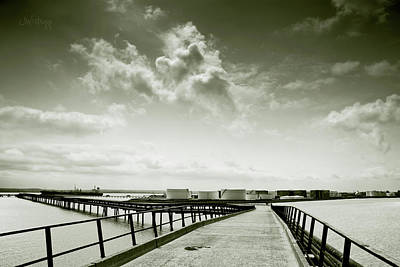 Photograph - Pier-shaped by Joseph Westrupp