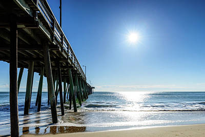 Photograph - Pier Side In The Morning by Michael Scott