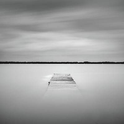 Photograph - Pier Sinking Into The Water by Todd Aaron