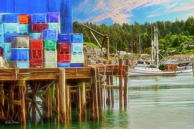 Photograph - Pier Storage by Mike Braun