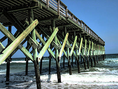 Photograph - Pier Strength by Roberta Byram