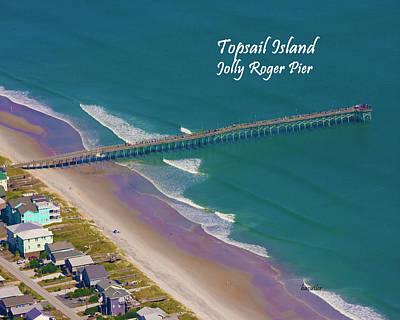 Beach Landscape Photograph - Pier Tastic by Betsy C Knapp