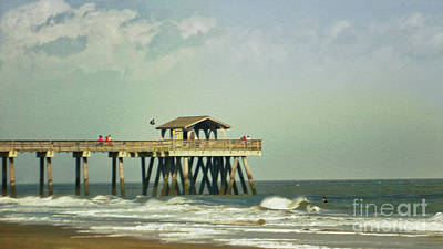 Photograph - Pier Tybee Island by Dawn Gari