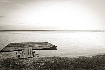 Photograph - Pier Zen by Theresa Muench