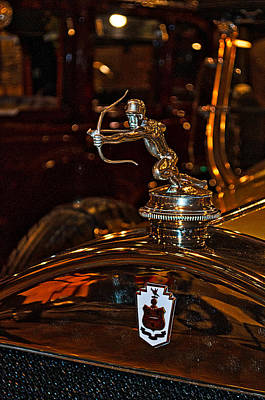 Photograph - Pierce Arrow Hood Ornament by Cathy Mahnke