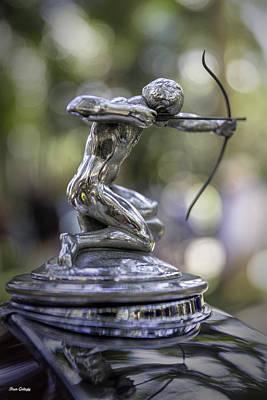 Photograph - Pierce Arrow Hood Ornament by Fran Gallogly