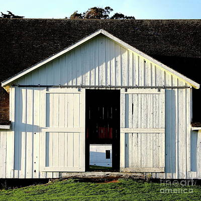 Photograph - Pierce Point Ranch 9 . Square by Wingsdomain Art and Photography