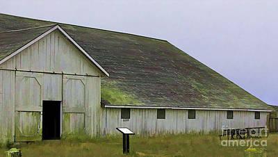Photograph - Pierce Pt. Ranch Study by Joyce Creswell