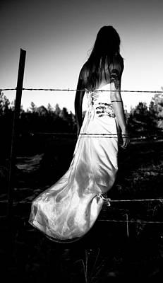 Pierced Dress Art Print by Scott Sawyer