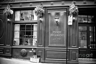 Montreal Restaurants Photograph - Pierre Du Calvet by John Rizzuto