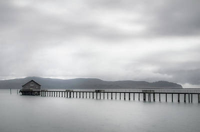 Photograph - Pier's End by Don Schwartz