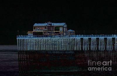 Photograph - Pier's End by Jenny Revitz Soper