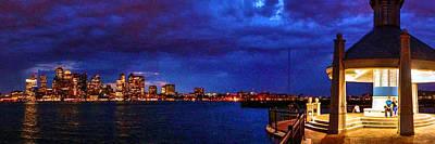 Photograph - Piers Park 4658 by Jeff Stallard
