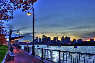 Photograph - Piers Point Park - Boston by Joann Vitali