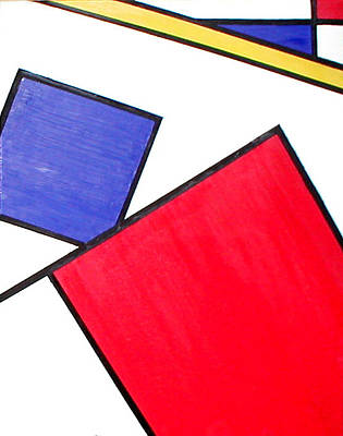 Piet Mondrian Art Print by Beth Parrish