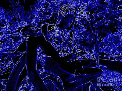 Digital Art - Pieta Abstract by Ed Weidman