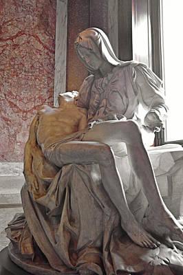 Photograph - Michelangelo's Pieta  by JAMART Photography