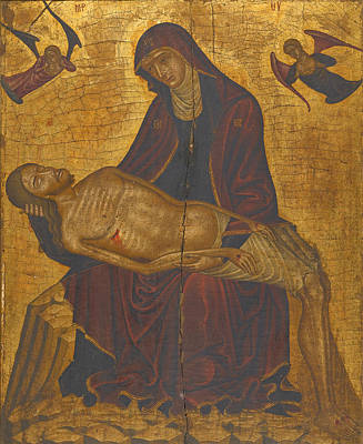 Painting - Pieta by Nikolaos Tzafouris