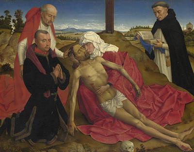 Pieta Digital Art - Pieta by the Workshop of Rogier van der Weyden