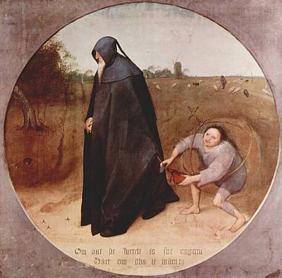 Old Man Painting - Pieter Bruegel The Elder by MotionAge Designs