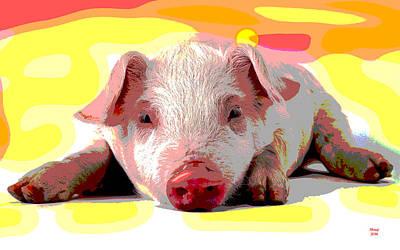 Pig In A Poke Art Print