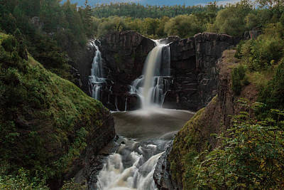 Photograph - Pigeon Falls, Grand Portage State Park #2 by Patti Deters