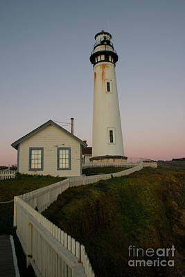 Photograph - Pigeon Point Light Station, California Photo By Pat Hathaway 2009 by California Views Archives Mr Pat Hathaway Archives