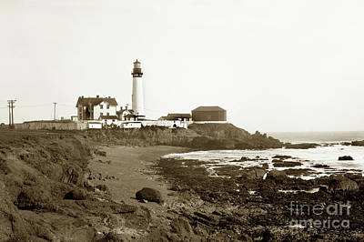 Photograph - Pigeon Point Light Station, California Photo by California Views Mr Pat Hathaway Archives
