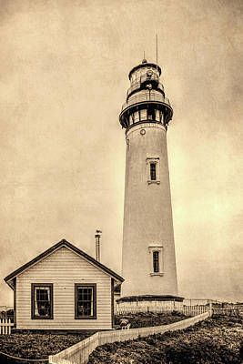 Pigeon Point Light Station Pescadero California Art Print