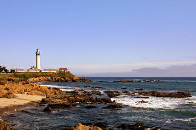 Security Photograph - Pigeon Point Lighthouse Ca by Christine Till
