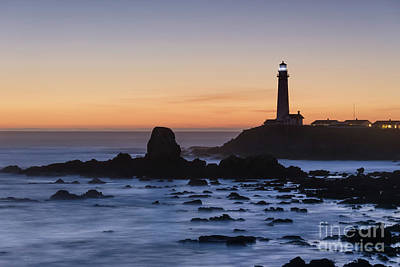Photograph - Pigeon Point Lighthouse by Cathy Alba