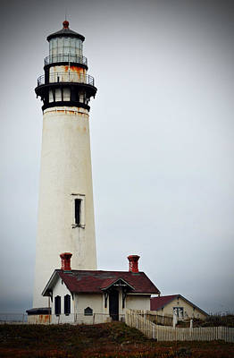 Photograph - Pigeon Point Lighthouse by Holly Blunkall
