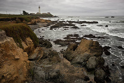 Photograph - Pigeon Point Lighthouse I by David Gordon