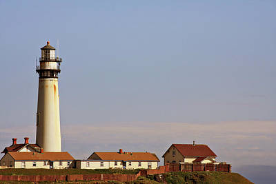 Photograph - Pigeon Point Lighthouse On California's Pacific Coast by Christine Till