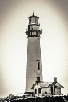 Photograph - Pigeon Point Lighthouse by Randy Bayne