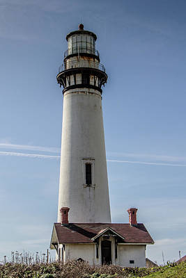Photograph - Pigeon Point Lighthouse by Teresa Wilson